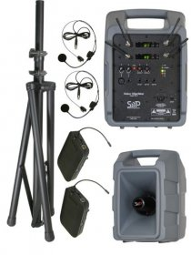 Voice Machine VM2 UHF Wireless Bodypack Dual Package by Sound Projections