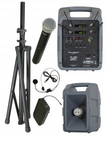 Voice Machine VM2 UHF Handheld and Bodypack Dual Package by Sound Projections