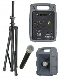 Voice Machine VM2 UHF Handheld Mic Package by Sound Projections