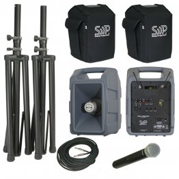 Voice Machine VM2D Digital Wireless Handheld Mic Deluxe Package by Sound Projections